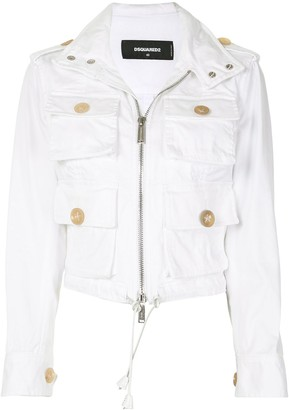 DSQUARED2 Cargo Pocket Jacket