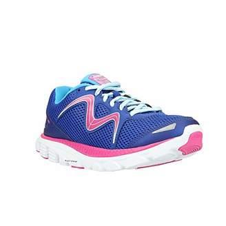 MBT Women's Speed 16 Running Shoe, White/Powder Blue/Silver