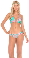 Luli Fama Dream Catcher D/DD Cup Triangle Halter In Multicolor (L472073)