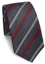 Kiton Textured Stripe Tie