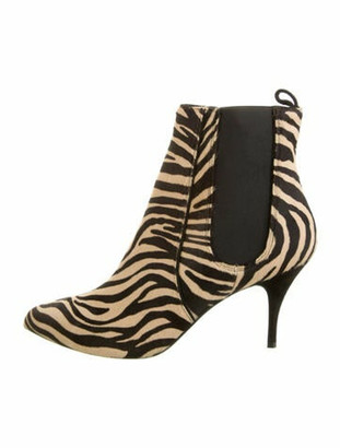 Tabitha Simmons Ponyhair Animal Print Boots w/ Tags