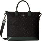 Vivienne Westwood Cut and Slash Messenger Bag Messenger Bags
