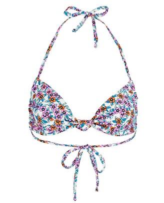 Frankie's Bikinis Gabe Floral Bikini Top