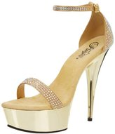 Pleaser USA Women's Delight-617 GSA Platform Sandal