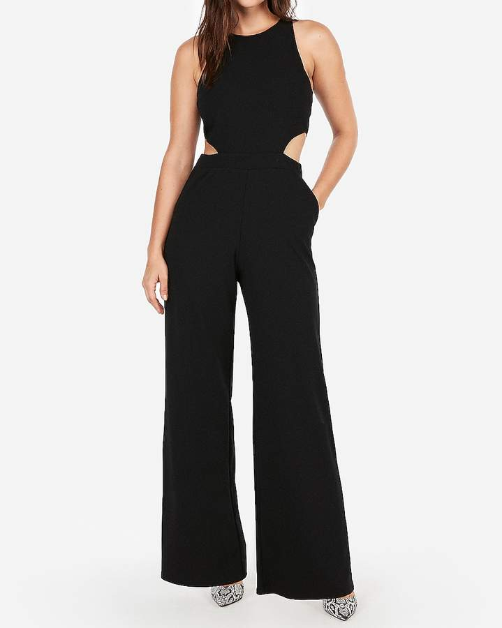 Express Cut-Out Side Jumpsuit