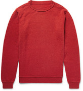The Elder Statesman Cashmere Sweater - Red