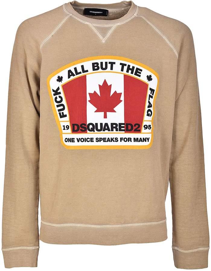 DSQUARED2 Canadian Flag Sweatshirt