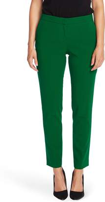 Vince Camuto Textured Twill Ankle Trousers