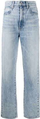 SLVRLAKE Dakota straight-leg jeans