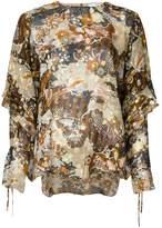 Chloé deco cloud print blouse