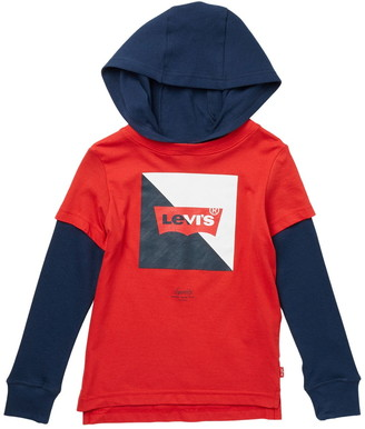 Levi's Twofer Pullover Hoodie