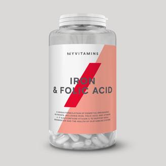 Myvitamins Iron & Folic Acid Tablet - 90Tablets