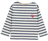 Hundred Pieces Sale - Heart Stripe T-shirt