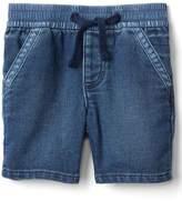 Super soft denim shorts