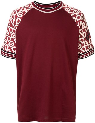 Dolce & Gabbana logo-print crew-neck T-shirt