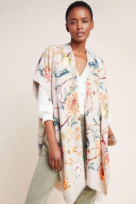 Anthropologie Madeline Floral Kimono