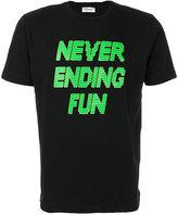 Tim Coppens printed slogan T-shirt
