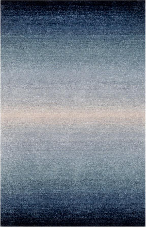 Liora Manné Liora Manne' Area Rug, Ombre 9663/03 Horizon Denim 5' x 8'