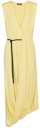 Altuzarra Calla belted jersey midi dress