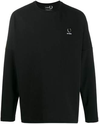 Fred Perry rear print T-shirt