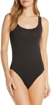 Felina Lace Cutout Thong Bodysuit