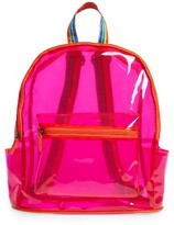 Lulu Jelly Backpack - Pink