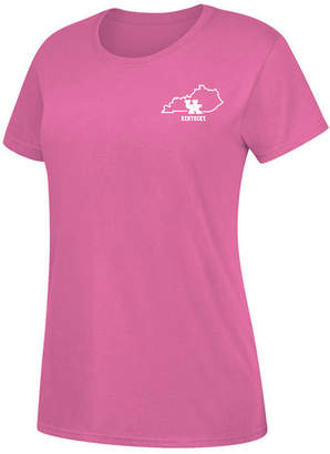 Top of the World Women Kentucky Wildcats State Outline Pastel T-Shirt