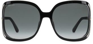 Jimmy Choo Tilda 60MM Square Sunglasses