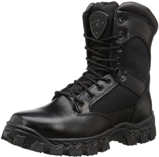 "Rocky Duty Men's Alpha Force 8"" Zipper Boot"
