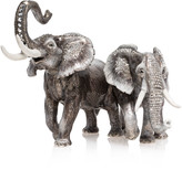 Jay Strongwater Elephant Pair Figurine