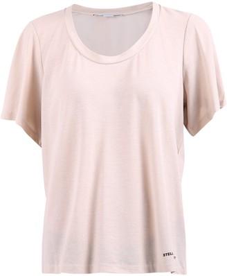 Stella McCartney Logo Scoop Neck T-Shirt