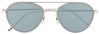 Thom Browne Aviator Frame Sunglasses