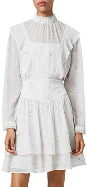 AllSaints Aislyn Ditsy Embroidered Dress