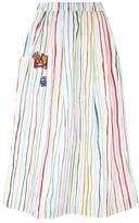 Mira Mikati Crayon Stripe Midi Skirt