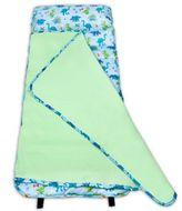 Olive Kids Dinosaur Land Easy Clean Nap Mat in Blue