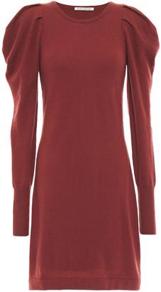 Autumn Cashmere Gathered Cashmere Mini Dress