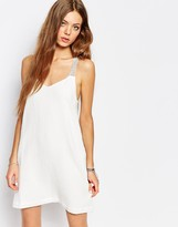 Suncoo Sun Strap Dress in Cream