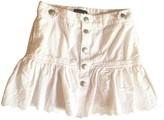 Ralph Lauren White Denim - Jeans Skirts