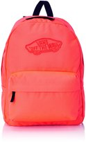 Vans Realm Womens Backpack One Size Neon Coral