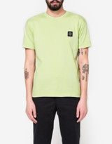 Stone Island Patch Logo T-Shirt in Pistacchio