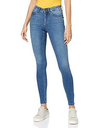 ONLY NOS Women's Onlblush Mid Skinny Bb Ana0002 Jeans,(Size: Small)
