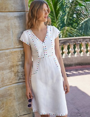 Leandra Embroidered Dress