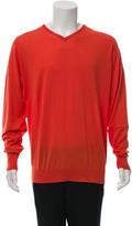 John Smedley Knit V-Neck Sweater