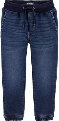 Osh Kosh Toddler Boy Knit Denim Jogger Pants
