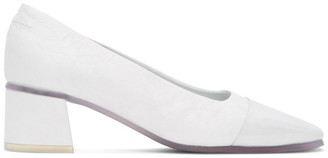 MM6 MAISON MARGIELA White Transparent Sole Heels