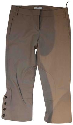 Prada Camel Wool Trousers