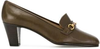 Céline Pre-Owned Horsebit Loafers