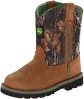 John Deere 1188 Western Boot (Toddler),Tan/Camouflage