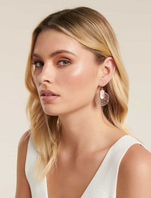 Ever New Tyra Filigree and Stone Drop Earrings