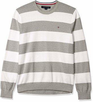 Tommy Hilfiger Men's Rugby Crewneck Sweater